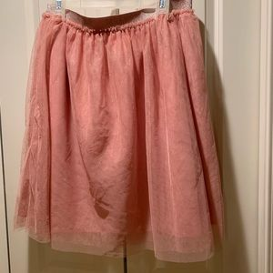F21 Pink Tulle Skirt